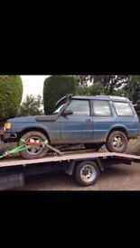 Land Rover discovery 1994 off roader 2 door