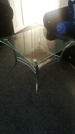 glass table excellent condition only used twice bargain