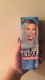 Blue Pastel Hair Dye Spray by Schwarzkopf