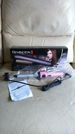 Remington Keratin Radiance Hairstraigher & Curl Create Wand Both Brand new unused