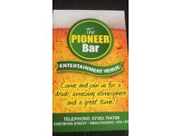 *****Free function room @ The Pioneer Bar******