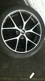 alloy wheels ford focus BBS r18.
