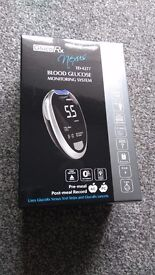 Gluco Rx Nexus Td-4277 Blood Glucose Monitoring System With Test