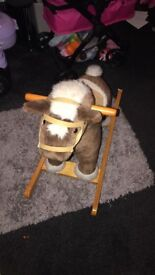 Mamas and papas rocking horse good condition