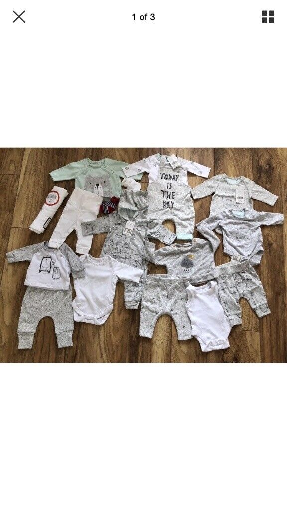 b5c306b6 Mothercare baby clothes bundle size Newborn new with tags | in ...