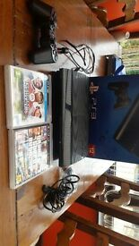 Playstation 3 slim 12gb with 2games 1 controller and lead and hdmi cable