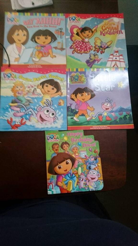 5 Dora books