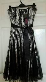 LOVELY BNWT LADIES SIZE 10 DRESS