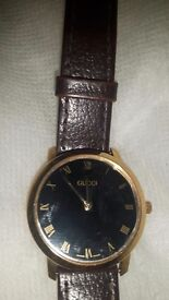 Mens Genuine gucci watch