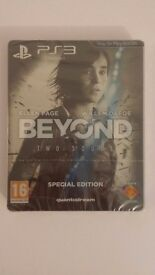 (PS3) Beyond Two Souls - Special Edition (Rare) - New & Sealed