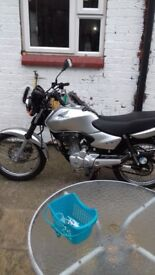 Honda cg125 2007 model immaculate condition and very low mileage