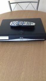 Sky plus HD box 500GB. Built in Wi-Fi Lite Box, with remote control