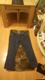 Size 24 olus size jeans new without tag