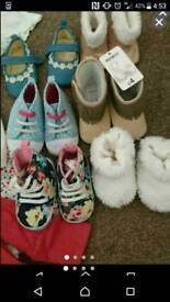 9/12 month shoes bundle