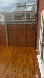 Fences and patios