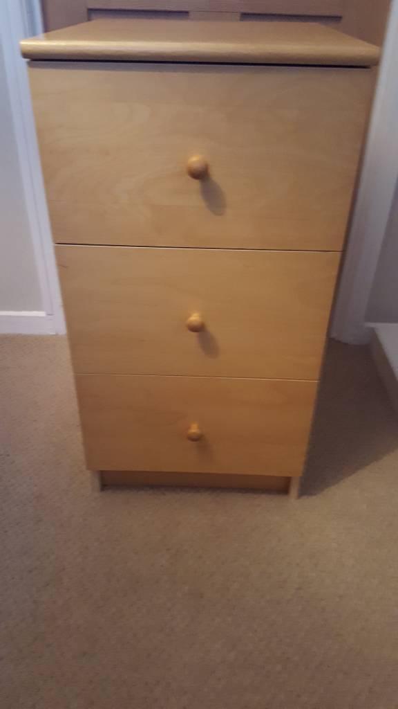 Wooden draws