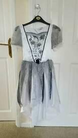 Halloween wedding ghost costume