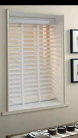50mm white wood Venetian blind