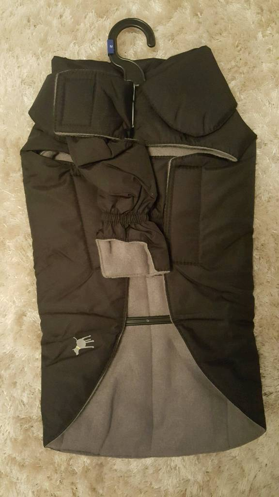 Fleece lined dog jackets, coats (new)