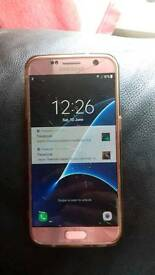 Samsung galaxy S7 32GB PINK GOLD (read description!!l