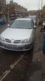Nissan and tidy low mileage car, with recently service