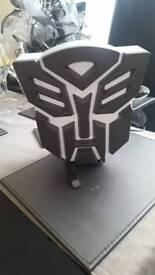 Transformers autobots night-light desk lamp
