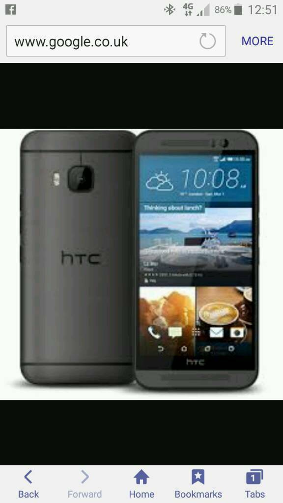 HTC one m9 Factory Unlocked bargain80in Basildon, EssexGumtree - HTC one m9 Factory Unlocked Used condition Few marks on the back But fully working powerful phone Total bargain £80 no offers Cash on collection Basildon Many thanks Chris 07933445554