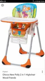 2n1 chicco polly highchair