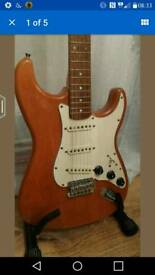 Upgraded stratocaster for sale