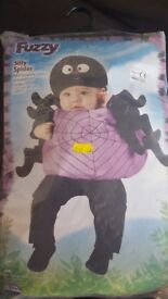 Baby spider halloween fancy dress costume