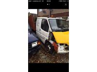Ford transit tipper crew cab project