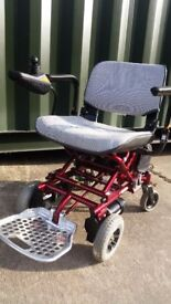 Portable Powerchair ultralite 760 mobility chair scooter