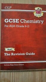 CPG GCSE chemistry 9-1 tripple science revision guide