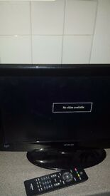 Hitachi tv 19 INCH
