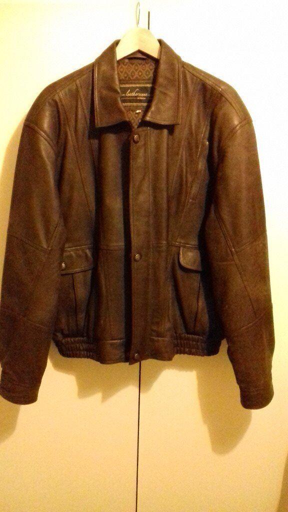 Leather Jacket with waistcoat