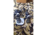 Pair of BT Freestyle 2200 Dect Telephones
