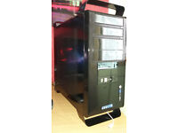 I core 7 970 6 core PC tower with GTX 650 TI 2GB DDR5 graphics card.