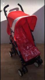 Mothercare Mino Red Buggy Stroller Pushchair Pram