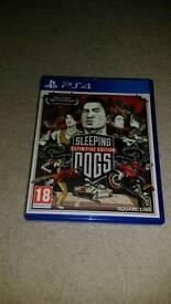 SLEEPING D0GS - PS4 - £10