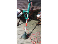 Qualcast 350 electric strimmer - not much use - works perfectly