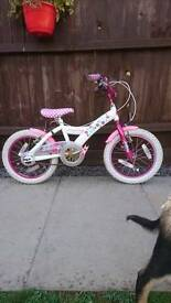 Girls, kids bike 16 inch wheel