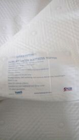 Latex plus mattress topper King Size 150cm x 200cm
