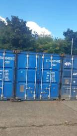 20 foot container on secure site cctv 24/7 access