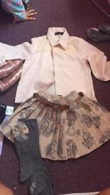 Girls Spanish designer outfit clothes