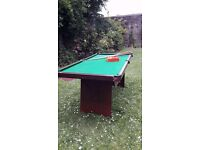Good condition 6ft pool table for sale!