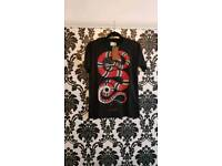POST ONLY...MEN'S SNAKE T-SHIRT LARGE SIZE ONLY