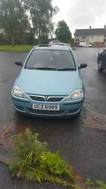 Vauxhall Corsa 1L 2003 if not sold il be doing the work and years ticket and selling for £600