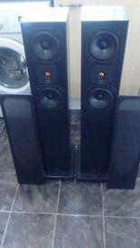 Monitor audio speakers
