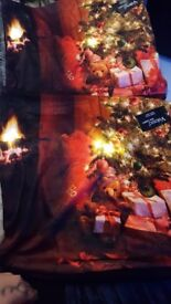 Light Up Pillows Christmas Cases Band New