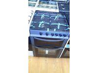 LOGIK Grey gas COOKER 50cm graded